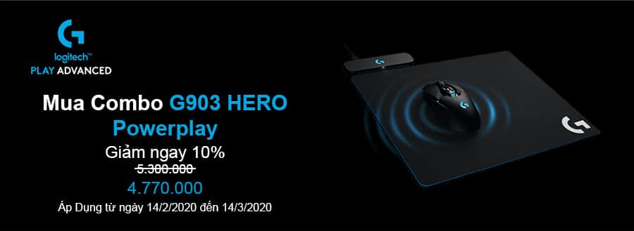 combo g903 hero powerplay